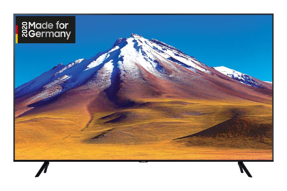 Bild 1 von Samsung GU55TU6979U. 139 cm 4K/HDR-TV mit Crystal UHD. Smart. Alexa. 6 Monate HD+! Black Friday!